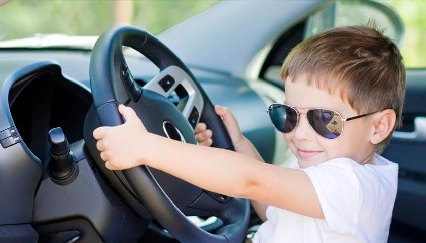 Оформить машину на ребенка